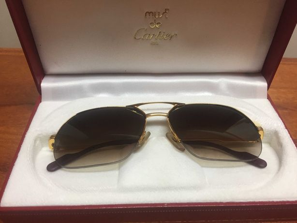 Óculos de Sol da Cartier, modelo - Orsay 18k GOLD - 1993 Edition