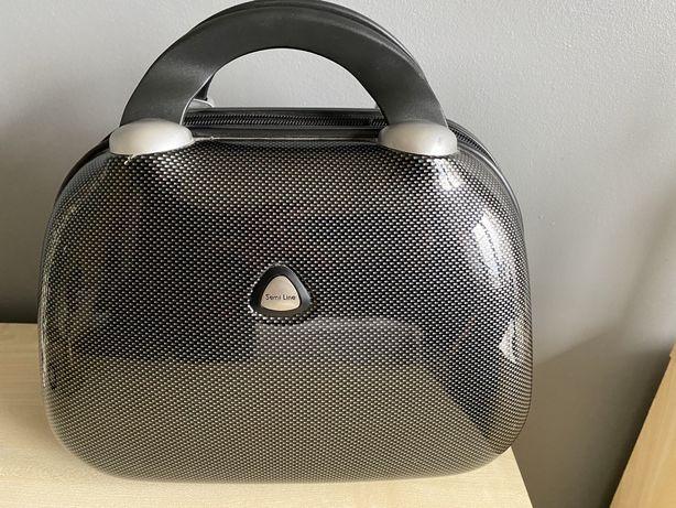 Kuferek na kosmetyki SemiLine kosmetyczka torba podróżna torebka