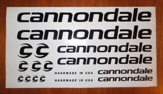 Cannondale kit autocolantes bicicleta
