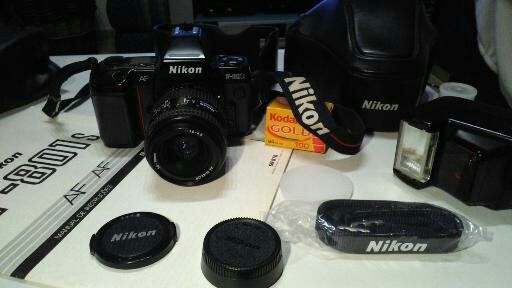 Nikon F801 S Analogica + Flash Nikon SB 22