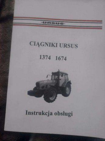Ursus 1374,1674 instrukcja obsługi PL oryginał