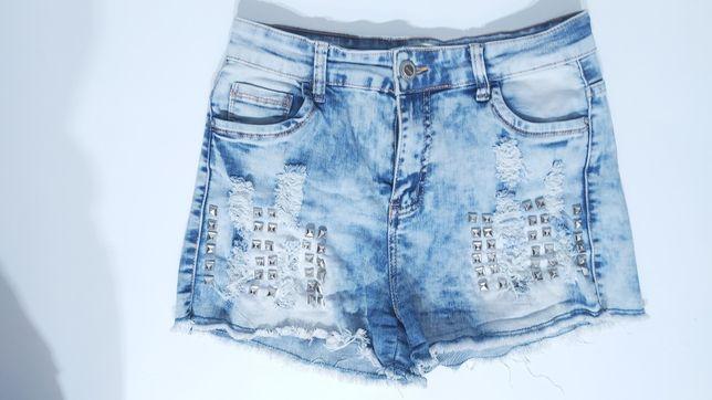 Spodenki jeans damskie
