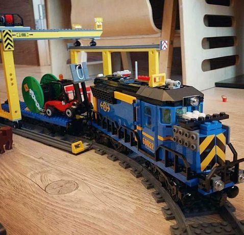 ХИТ РЕДКОСТЬ! Конструктор Лего 60052 Грузовой поезд с железной дорогой