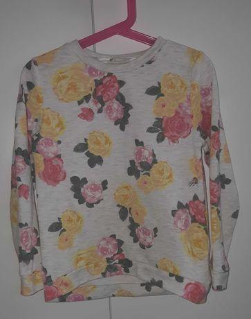 Śliczna bluza kwiaty H&M