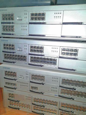 Продам оборудование Samsung OfficeServ 7200 (IP-телефония + сеть)