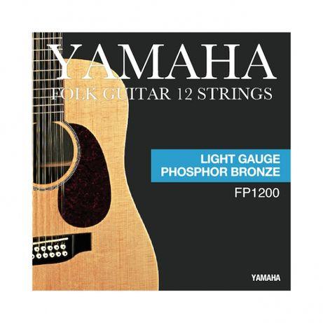J. Cordas Guitarra Acústica 12 cordas Yamaha - FP1200