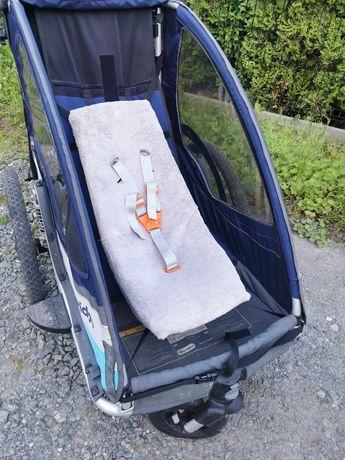 Wkładka do przyczepki rowerowej WEBER leżaczek hamak dla dziecka