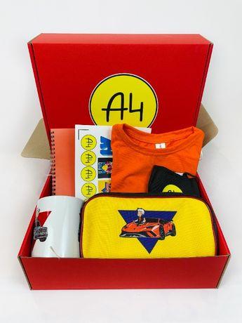 А4 набор - Влад Бумага А 4 Maxi Box Пенал Футболка Подарок ребенку
