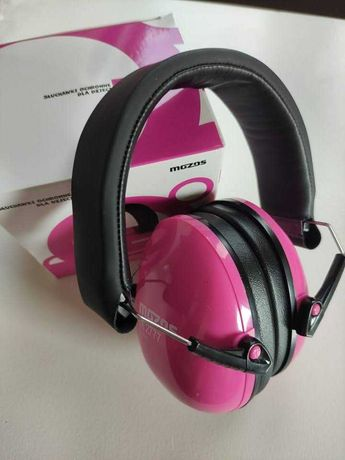 Słuchawki ochronne wygłuszające wyciszające dla dzieci