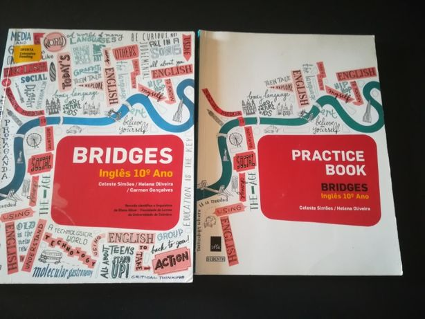 Manual escolar de Inglês 10º ano + caderno de atividades