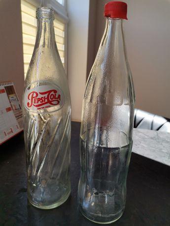 Butelki Pepsi