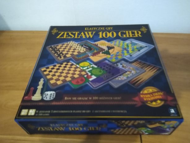 zestaw 100 gier klasyczne gry.