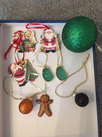 Zawieszki świąteczne ozdoby choinkowe za darmo