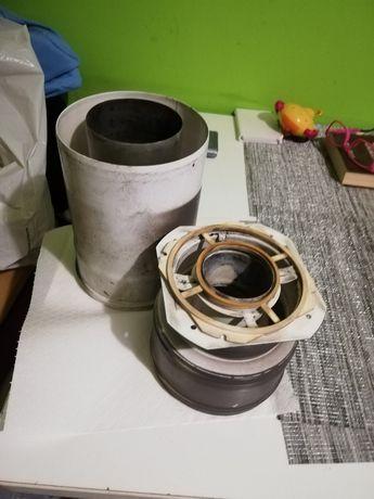 Adapter i rura do pieca gazowego