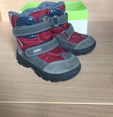 Зимние ботинки chicco superfit ecco термо 24 размер, стелька 15,5 см.