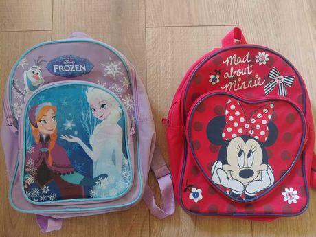 Minnie Elsa plecak plecaczek dla przedszkolaka do przedszkola