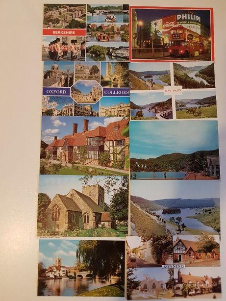 Pocztówki widokówki zagraniczne Wielka Brytania 46 szt.