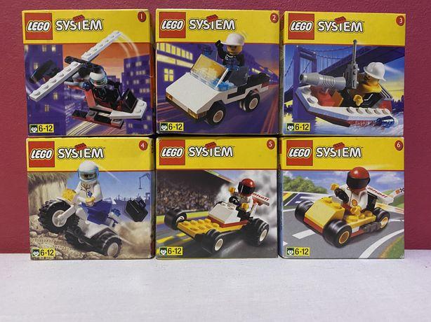 Kolekcja nieotwartych zestawów Lego System UNIKAT!