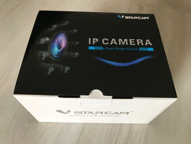 Sistema de Video Vigilância - 3 IP Cameras WI-FI