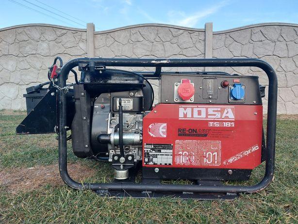 Agregat Prądotwórczy Ze Spawarką MOSA TS 181 / 400V/230V /5KVA Italy
