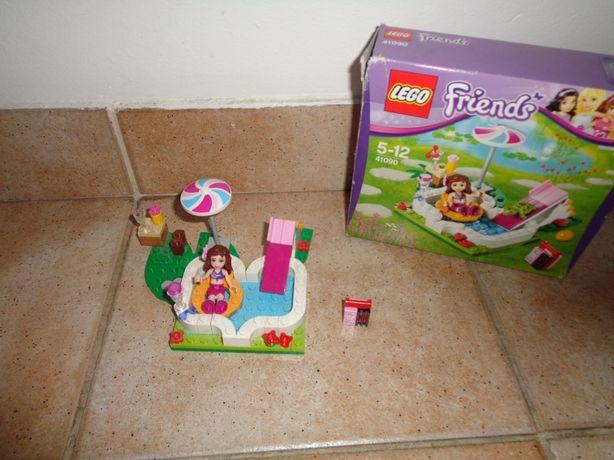 Lego friends ogrodowy basen Olivii 41090