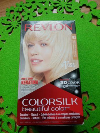 Farba do włosów Jasny Blond Revlon z Hiszpanii