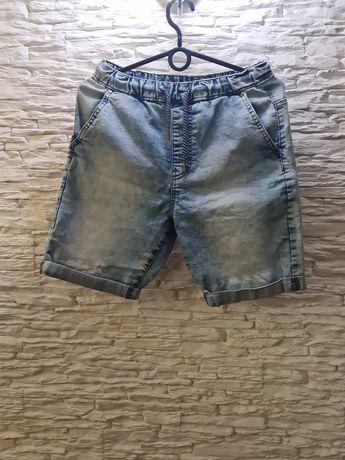 Spodenki jeansowe reserved i koszulka