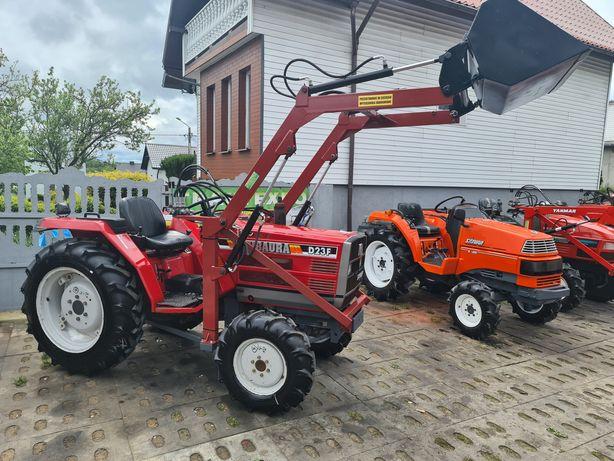 Mini traktor japoński, ładowacz gratis,sadowniczy,maly traktorek