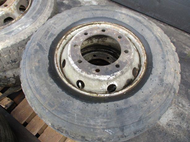 Koło Opona Ciężarowa MICHELIN 305/70 R19.5 Komplet z Felgą