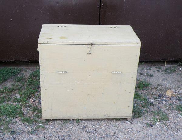 Деревянный комод, скриня, ящик для хранения винтаж