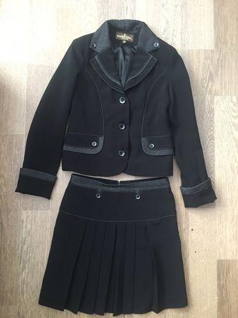 Школьная форма (пиджак и юбка)
