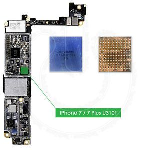 Audio ic iPhone 7 - 7 Plus naprawa serwis iSeu brak dźwięku