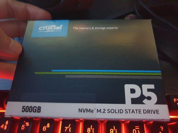 NVMe Crucial P5 500GB