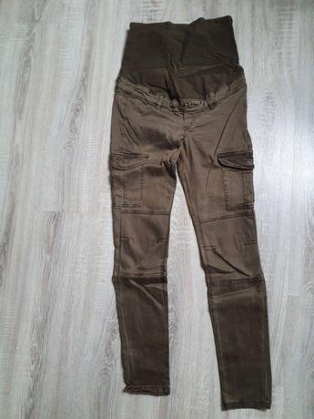 Spodnie ciążowe H&M mama M 38 khaki