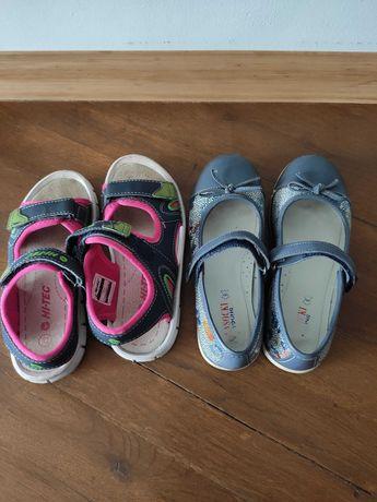 buty baleriny skórzane lasocki sandały hi-tec rozmiar 32