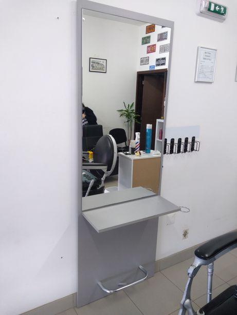 Bancada barbeiro /cabeleireiro