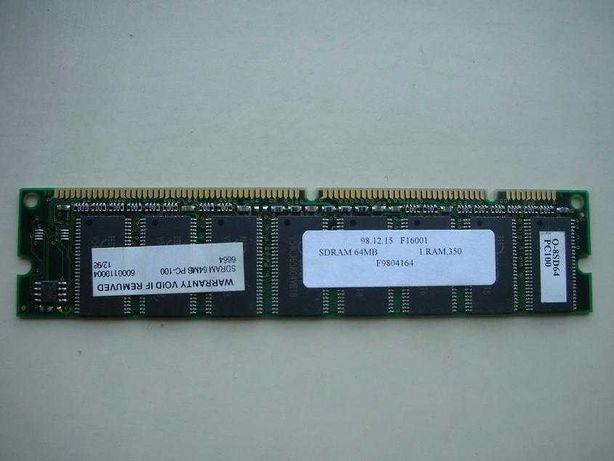 Memória SD RAM 64 Mb 100 MHz p/ Desktop