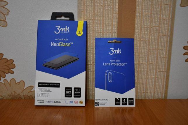 3mk NeoGlass Apple iPhone 12 Pro Max + 3mk Lens iPhone 12 Pro Max HIT!