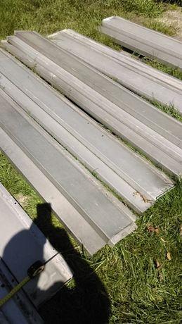 parapety alu parapet aluminiowy zewnętrzy-wewnetrzny co kto woli