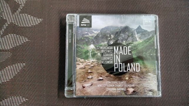 CD Made in Poland Atom String Quartet NFM Leopoldinum Chamber Orchestr