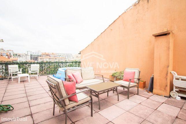 Apartamento T2+1 Bonfim Porto para venda c/ Terraço
