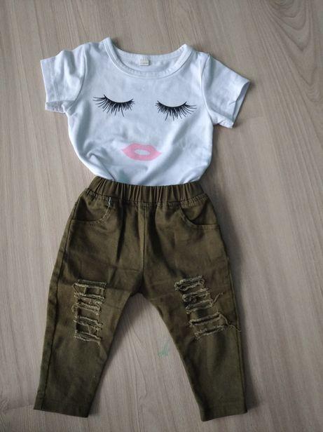 Spodnie i bluzka