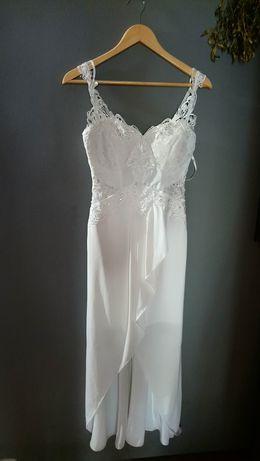 Sukienka ślubna  roz 36/38polecam :-)