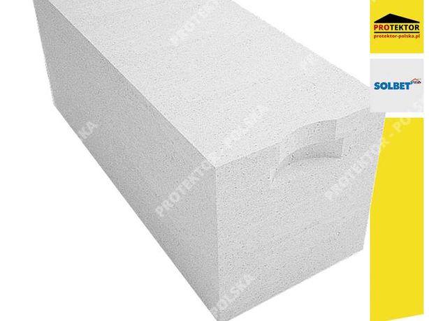 SOLBET 24 kl 600 gazobeton suporex bloczek pustak beton komórkowy H+H