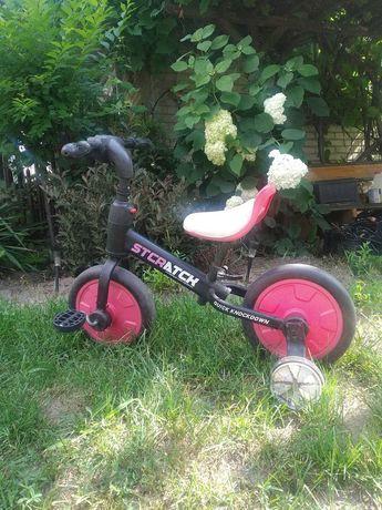 Rowerek 2w1 Klasyczny + Biegowy STCRATCK