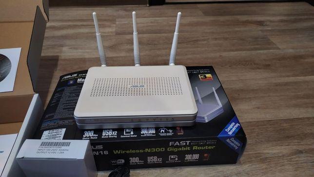 Продам Wi-Fi роутер Asus RT-N16 300 Мбит/с (1Gbit/s+2USB+3/4G)