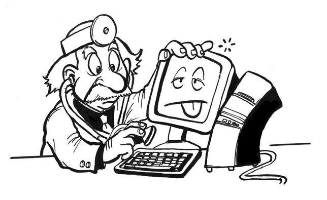 Компьютерный доктор.