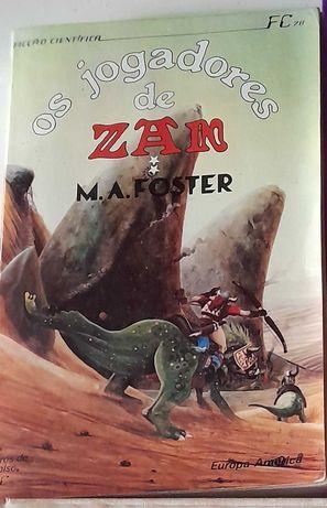 "Livro "" Os Jogadores de Zan II "" Antigo"