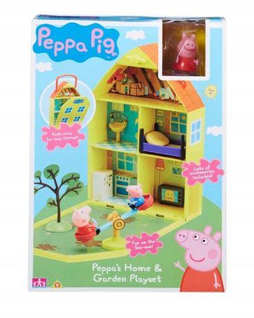 Świnka Peppa Pepa Domek Peppy z ogrodem figurki