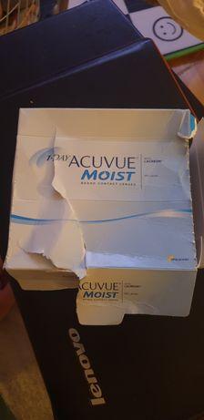 Acuvue moist -1.75 soczewki jednodniowe
